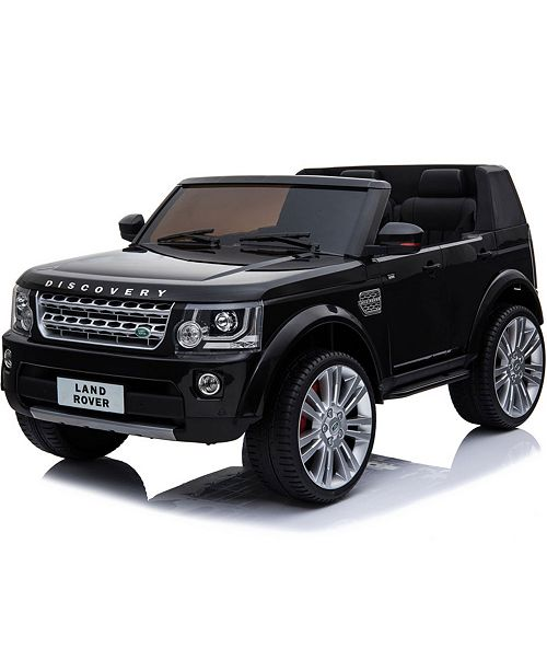 MiniMotos Mini Moto Land Rover Discovery 12V Ride On Car Truck with 2.4Ghz Remote Control