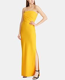 Lauren Ralph Lauren Strapless Column Gown
