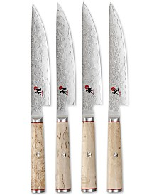 Miyabi Birchwood SG2 Steak Knives, Set of 4