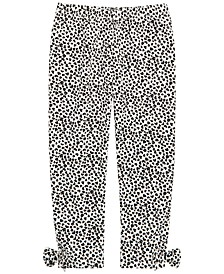 Baby Girls Heart-Print Leggings, Created for Macy's
