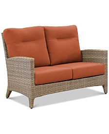 Grand Stafford Outdoor Loveseat with Sunbrella® Cushions