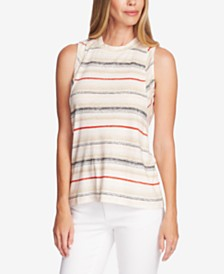 Vince Camuto Striped Tank Top