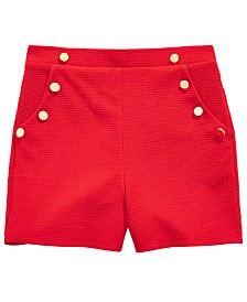 Monteau Big Girls Buttons Shorts