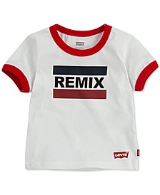 DADDY & ME COLLECTION Baby Boys Remix Graphic Cotton T-Shirt