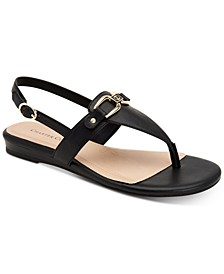Ondreaa Thong Flat Sandals, Created for Macy's