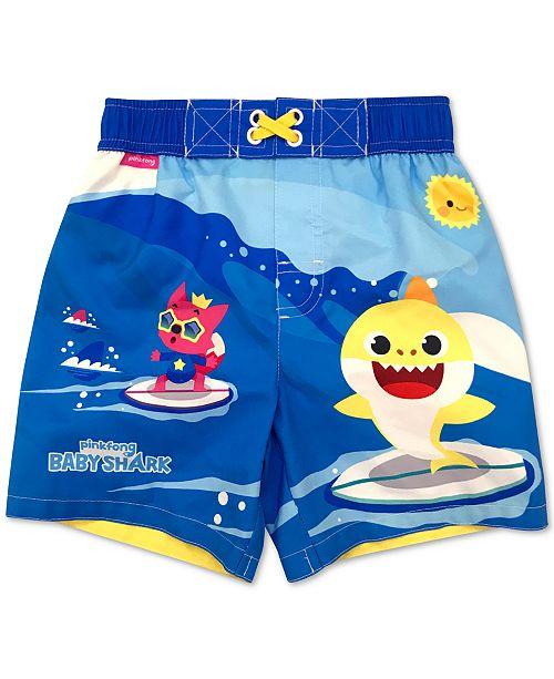 Dreamwave Toddler Boys Baby Shark Swim Trunks