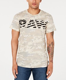 G-Star RAW Men's Flag Logo Camo T-Shirt, Created for Macy's