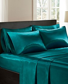 Madison Park Essentials Satin 2-PC Standard Pillowcases