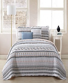 Prescott 5-pc Full/Queen Reversible Quilt Set