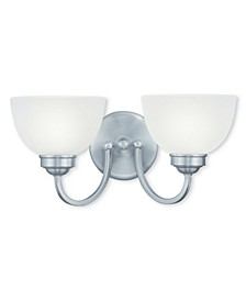 CLOSEOUT!   Somerset 2-Light Bath Vanity Fixture