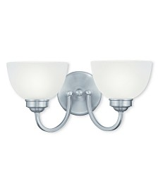 CLOSEOUT! Livex   Somerset 2-Light Bath Vanity Fixture