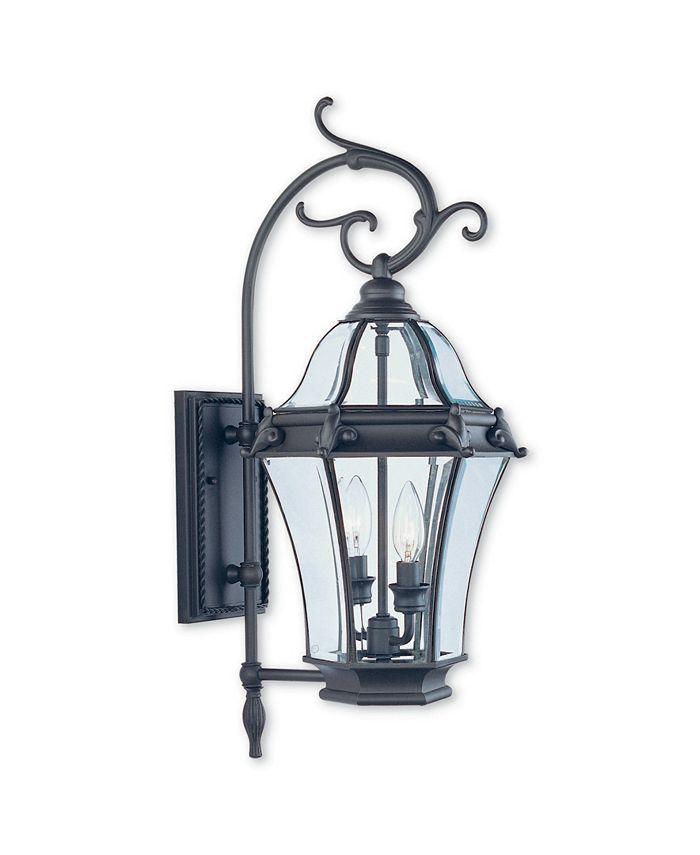 Livex - Fleur de Lis 2-Light Outdoor Wall Lantern