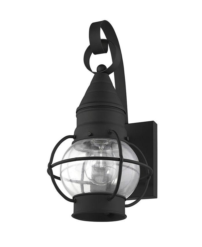 "Livex - Newburyport 1-Light 13.75"" Wall Lantern"