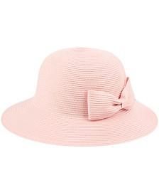 Poly Braid Bucket Sun Hat with Ribbon