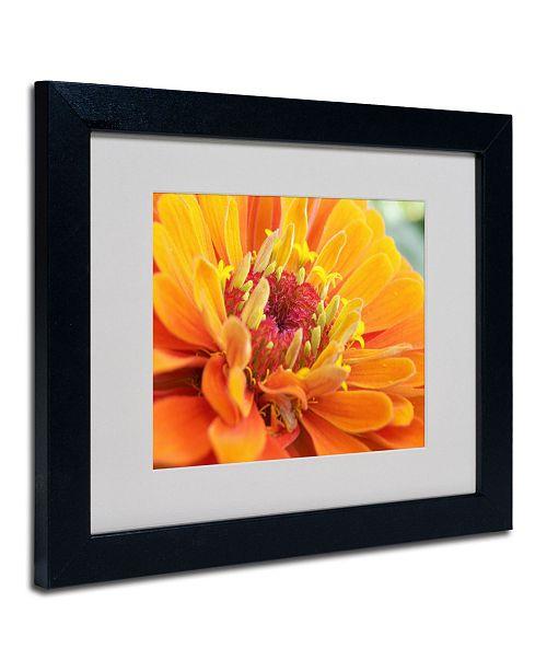 """Trademark Global Monica Fleet 'Balanced Beauty' Matted Framed Art - 14"""" x 11"""""""