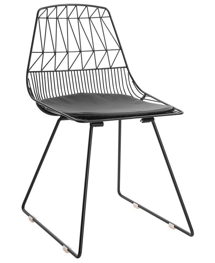 Adore Décor - Vivi Dining Chair, Quick Ship (Set of 2)