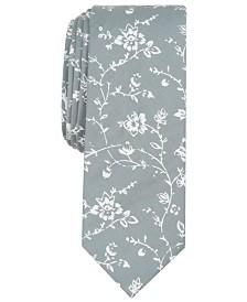 Original Penguin Men's Jassal Floral Skinny Tie