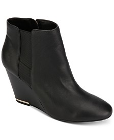 Kenneth Cole New York Women's Merrick Wedge Booties