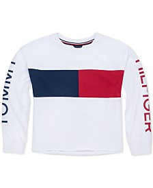 Tommy Hilfiger Big Girls Colorblocked Sweatshirt
