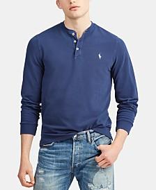 Polo Ralph Lauren Men's Featherweight Mesh Knit Henley Shirt