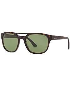 Prada Polarized Sunglasses, PR 23VS 56 HERITAGE