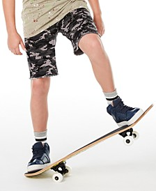 Big Boys Stretch Camouflage Twill Cargo Shorts, Created for Macy's
