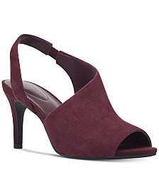Bandolino Jasmine Peep Toe Slingback Sandals