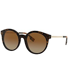 Burberry Polarized Sunglasses, BE4296 53