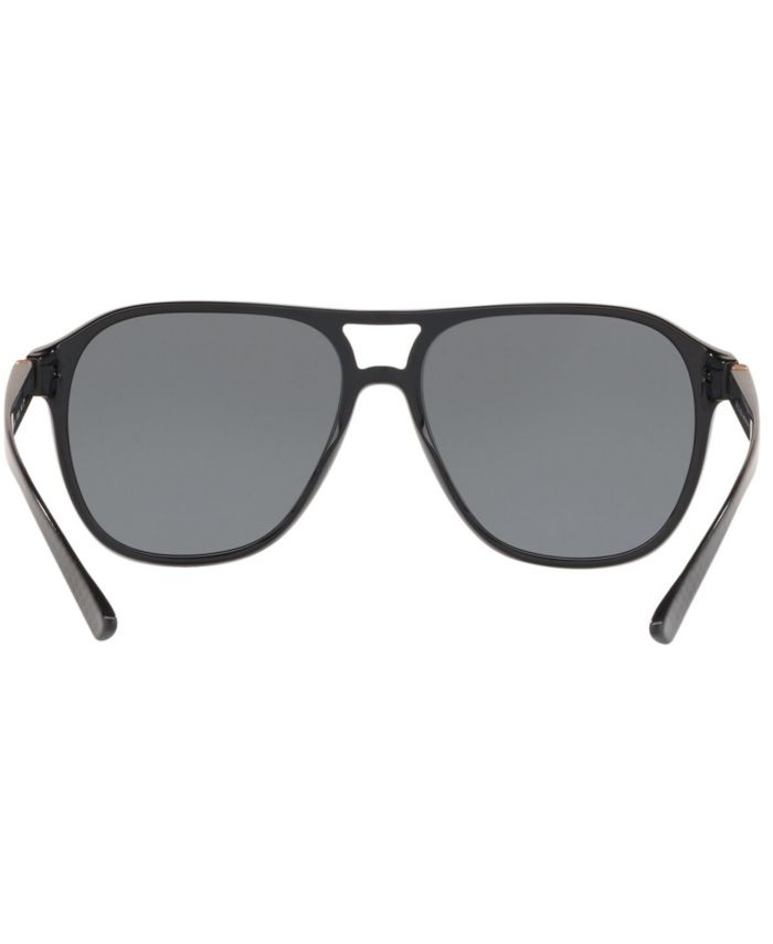 BVLGARI Polarized Sunglasses, BV7034 57 & Reviews - Sunglasses by Sunglass Hut - Men - Macy's