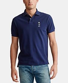 Polo Ralph Lauren Men's Basic Slim Fit Mesh Knit Polo Shirt