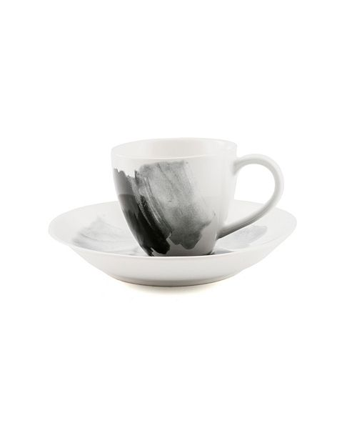 Thirstystone CLOSEOUT! Espresso Demitasse Cup and Saucer Set