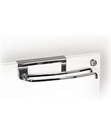 Over Cabinet Door Pivoting Towel Bar