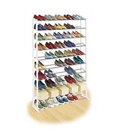 50 Pair Shoe Shelf Organizer