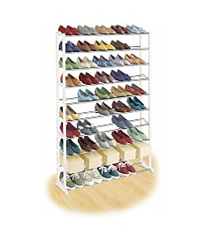 Lynk 50 Pair Shoe Shelf Organizer