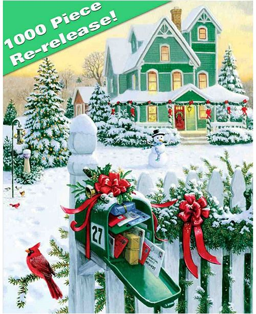 Springbok Puzzles Holiday Mail 1000 Piece Jigsaw Puzzle