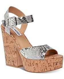 Women's Jess Cork Platform Sandals