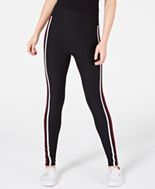 Planet Gold Juniors' High-Waist Leggings