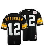 ab00670a543 Mitchell   Ness Men s Terry Bradshaw Pittsburgh Steelers Authentic Football  Jersey