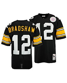 Mitchell & Ness Men's Terry Bradshaw Pittsburgh Steelers Authentic Football Jersey