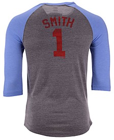 Men's Ozzie Smith St. Louis Cardinals Coop Batter Up Raglan T-Shirt