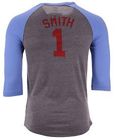 Majestic Men's Ozzie Smith St. Louis Cardinals Coop Batter Up Raglan T-Shirt
