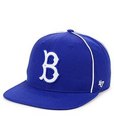 Brooklyn Dodgers Jackie Robinson 42 Leadoff Snapback Cap