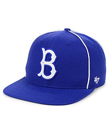 '47 Brand Brooklyn Dodgers Jackie Robinson 42 Leadoff Snapback Cap