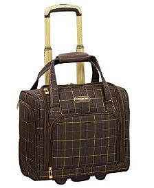 """London Fog Brentwood 15"""" Under-Seat Carry-On Suitcase, Created for Macy's"""