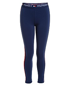 Tommy Hilfiger Big Girls Sporty-Striped Leggings