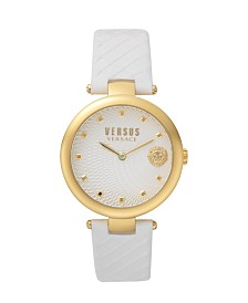 Versus Women's White Strap Watch 18mm