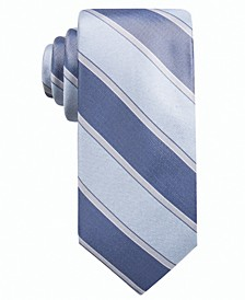 Men's Rue Stripe Slim Tie, Created for Macy's