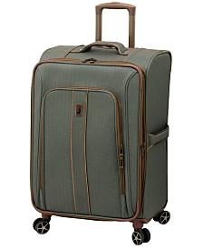 "London Fog Newcastle Softside 24"" Spinner Suitcase"