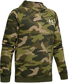 Under Armour Big Boys Camo-Print Fleece Hoodie
