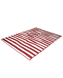 Pacific Play Tents Tatami Mat - Red - 60 Inch X 78 Inch